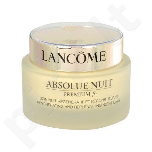 Lancome Absolue Nuit Premium Bx Regenerating naktinis kremas, kosmetika moterims, 75ml