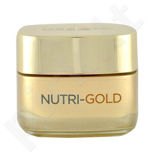 L´Oreal Paris Nutri Gold dieninis kremas, kosmetika moterims, 50ml