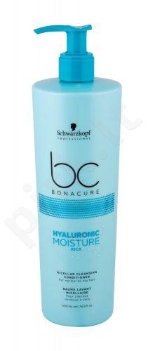 Schwarzkopf BC Bonacure, Hyaluronic Moisture Kick Micellar, kondicionierius moterims, 500ml