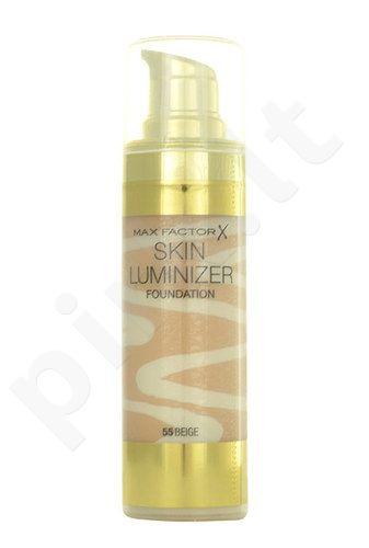 Max Factor Skin Luminizer kreminė pudra, kosmetika moterims, 30ml, (55 Beige)