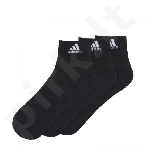Kojinės Adidas 3 Stripes Performance Ankle Half Cushioned 3 poros AA2286