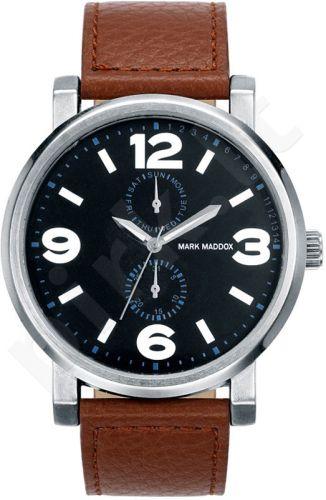 Laikrodis MARK MADDOX  Aviator Look. . kvarcinis. chronografasgrafas. WR: 3ATM