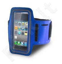 ARM PREMIUM universalus dėklas I9500 Forever mėlynas