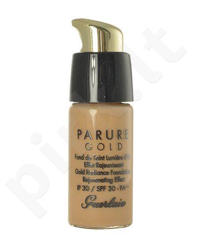 Guerlain Parure Gold Gold Radiance kreminė pudra SPF30, kosmetika moterims, 15ml, (testeris), (23 Natural Golden)
