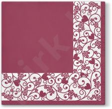 Servetėlės ​​Chic Frame Bordo 113528