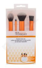 Real Techniques Base, Brushes, rinkinys šepetėlis moterims, (Brush for Contouring 1 pc + Brush for Details 1 pc + Brush for pudra 1 pc + Make-up Brush 1 pc + Stand 1 pc)