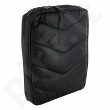 4World Maišelis su kišenėmis planšetinį kompiuterį 10.1'', juodos ir žalios