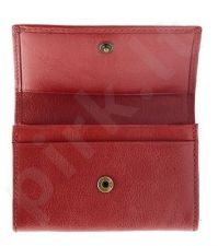 KRENIG Classic 12035 raudonas odinis dėklas vizitinėms