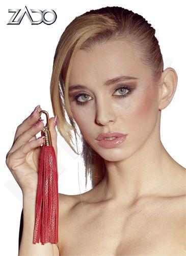 ZADO  Leather Mini Whip red