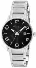 Laikrodis KENNETH COLE - NEW YORK S /S vyriškas S /S apyrankė BLACK DIAL