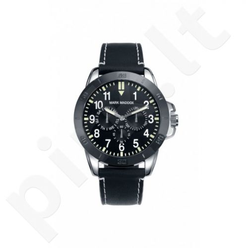Laikrodis MARK MADDOX  Aviator Look. 46 mm. kvarcinis. Multifunction. WR: 3ATM