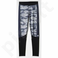 Sportinės kelnės Adidas Techfit Long Tight Print W AY5499