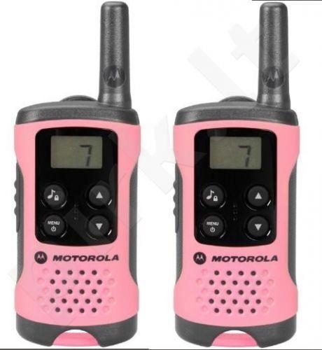 Motorola T41 short-wave radio, 4km, Pink