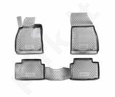 Guminiai kilimėliai 3D OPEL Insignia 2008-2017, 4 pcs. /L51016G /gray