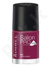 Rimmel London Salon Pro, nagų lakas kosmetika moterims, 12ml, (323 Riviera Red)