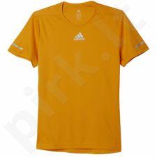Marškinėliai bėgimui  Adidas Sequencials Tee M AI7487