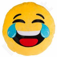 """Pliušinė pagalvė """"Emocija: juokas"""" (50cm)"""