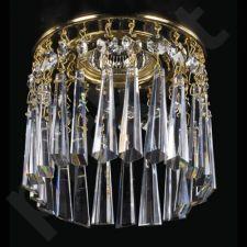 Įmontuojamas šviestuvas krištolinis 224-spot-02 ArtGlass