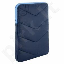 4World Aksominis maišelis už tabletę10.1'', tamsiai mėlyna