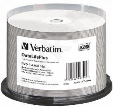 Verbatim DVD-R [ spindle 50 | 4.7GB | 16x | wide ]