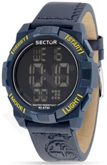 Laikrodis SECTOR   Street Digital 1945 Blue Dial Blue Str