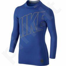 Marškinėliai termoaktyvūs  Nike Hyperwarm Comp Jr 743419-480