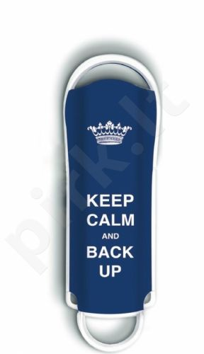 Atmintukas Integral Xpression Art 8GB, Keep Calm & Back Up, Mėlynas, Stilingas