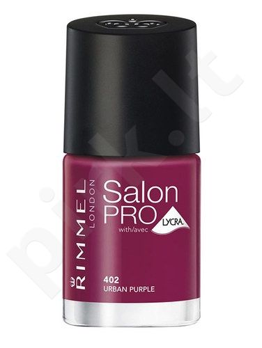 Rimmel London Salon Pro, nagų lakas kosmetika moterims, 12ml, (402 Urban Purple)
