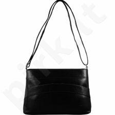 DAN-A T175 juoda rankinė iš natūralios odos , moteriška
