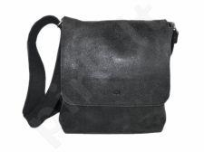 DAAG Jazzy Risk 134  juoda rankinė iš natūralios odos unisex