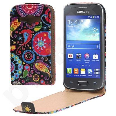 Samsung Galaxy Core Duos dėklas VARIEGAT Telemax juodas