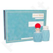 Miu Miu Miu Miu, rinkinys kvapusis vanduo moterims, (EDP 50 ml + kūno losjonas 100 ml)