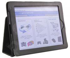 Dėklas/stovas Esperanza skirtas iPad 2 ir New iPad (iPad3) | Dvi padėtys |Juodas