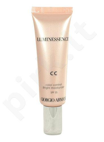 Giorgio Armani Luminessence CC Bright Moisturizer SPF35, kreminė pudra, kosmetika moterims, 30ml, (4)