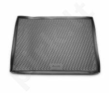 Guminis bagažinės kilimėlis CITROEN Berlingo B9 van 2008-> black /N08001