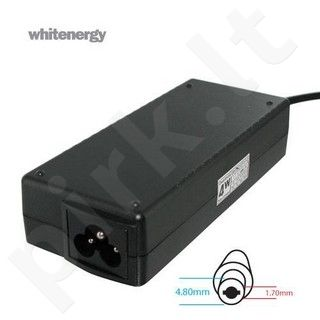 Whitenergy mait. šaltinis 18.5V/3.5A 65W kištukas 4.8x1.7mm, HP, Compaq