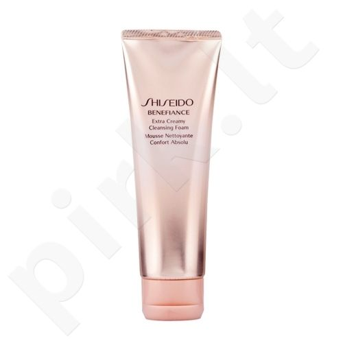 Shiseido BENEFIANCE Extra kremas prausimosi putos, 125ml, kosmetika moterims