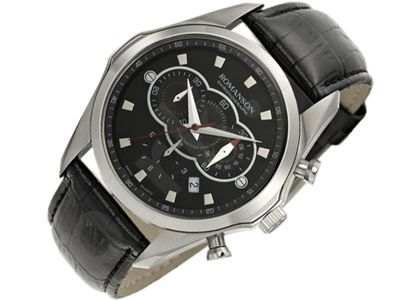 Romanson Sports TL3207HM1WA32W vyriškas laikrodis-chronometras