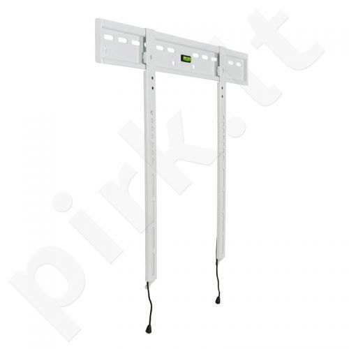 4World LCD/PDP sieninis laikiklis 30- 50'' fiksuotas SLIM TV svoris iki 65kg WHT