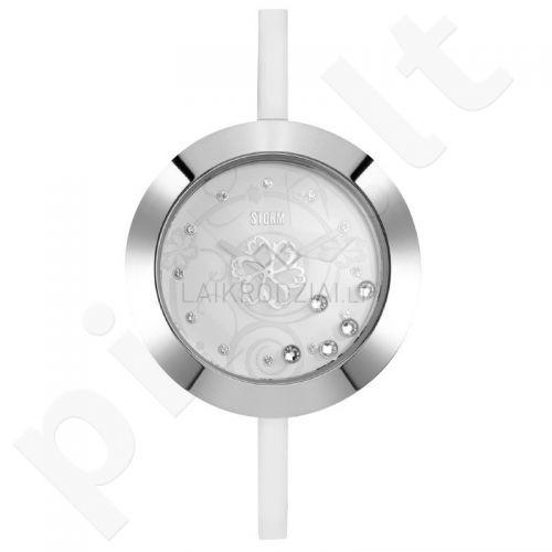Moteriškas laikrodis STORM Crysteeq Silver