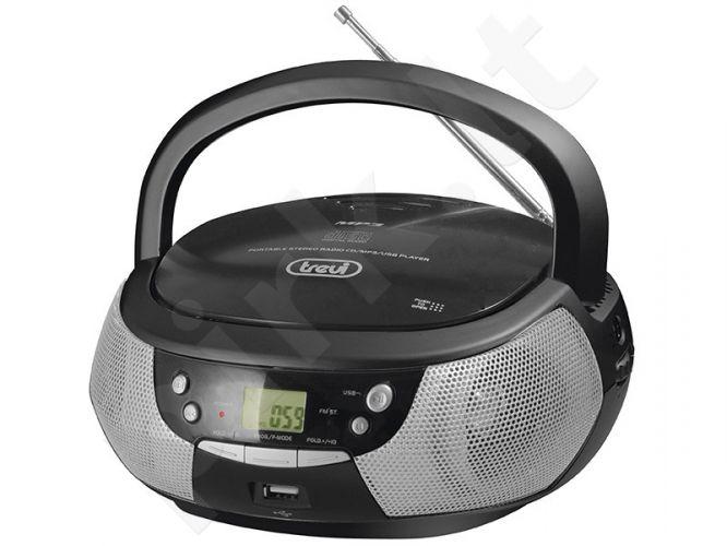 Magnetola su radija CD/mp3 USB TREVI 532(juoda)
