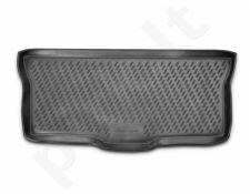 Guminis bagažinės kilimėlis CITROEN C1 hb 2010->  black /N08005