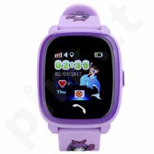 Vaikiškas laikrodis SKMEI DF25 PURPLE laikrodis vaikams