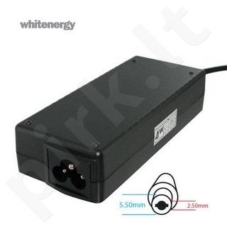 Whitenergy mait. šaltinis 18.5V/4.9A 90W kištukas 5.5x2.5mm, HP, Compaq