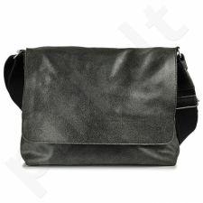 DAAG Jazzy Risk 130  juoda rankinė iš natūralios odos unisex