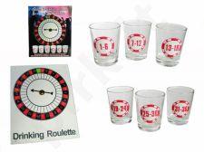 Stiklinė gėrimų ruletė