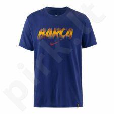 Marškinėliai futbolui Nike FC Barcelona Preseason M 924178-455