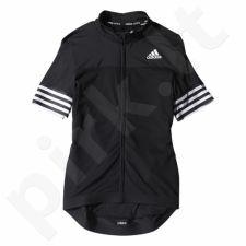 Marškinėliai rowerowa Adidas Adistar SS Jersey W S05518