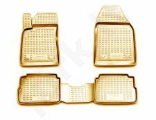 Guminiai kilimėliai 3D OPEL Vectra 2002-2008, sed., hb, 4 pcs. /L51023B /beige