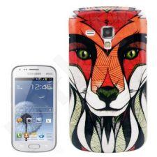 Samsung Galaxy Trend dėklas Fox Telemax baltas